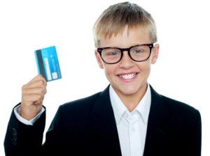 детская банковская карта