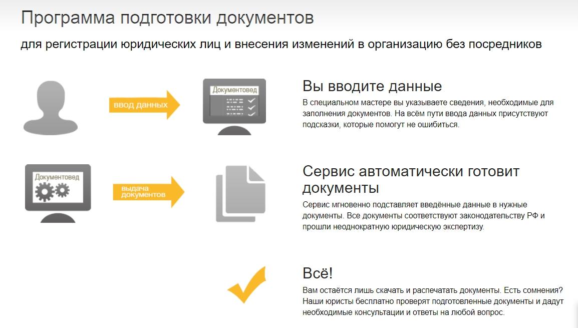 Документовед - онлайн сервис оформления документов